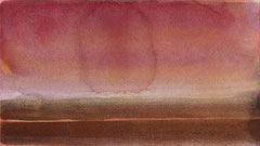 o.T. 2010 Aquarellfarbe 13,5 x 23,9 cm