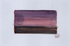 o.T. 2010 Aquarellfarbe 20 x 29,6 cm Motiv ca. 10,5 x 19,5 cm