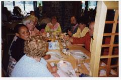 à Caister dans le restaurant du hollidays caravan