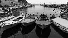 Der innere Hafen ist den kleinen Fischerbooten vorbehalten