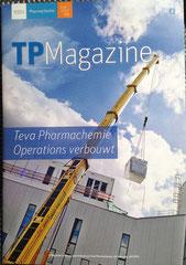 Bedrijfsmagazine van Teva Pharmachemie, voor Scanvisie
