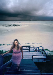 TREPPE, 2010, Colorprint auf Kodakpapier, 100 x 143,5 cm, auch in L(140x200cm) , Ed. 5