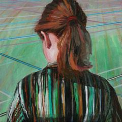 NELE, 2010, Acryl auf Leinwand, 50 x 50 cm