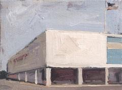 Blanca Amorós, SEARS, 2016, Öl auf Leinwand, 16 x 22 cm