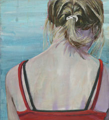 LAURA, 2008, Acryl auf Leinwand, 50 x 45 cm