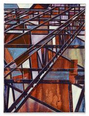 O.T., 2016, Acryl auf Leinwand, 40 x 30 cm
