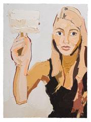 TAMEN, 2015, Öl auf Leinwand,  230 x 170 cm