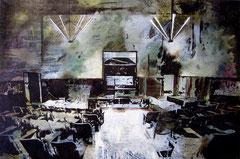AM 2, 2013, Öl, Acryl auf Leinwand, 80 x 120 cm