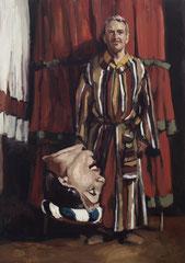 Blanca Amorós, UNTITLED, 2019, Öl auf Leinwand, 70 x 50 cm
