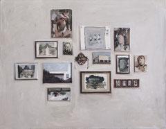 Blanca Amorós, COMPOSICIÓN, 2016, Öl auf Leinwand, 70 x 90 cm