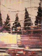 Light and shadow 2013 Öl auf Leinwand  200x150cm