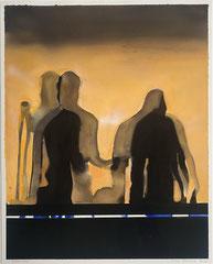 DANCE (SHADOW PLAY) 2020 Gouache auf Papier 60 x 48 cm