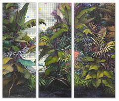 THE GARDEN - ET IN ARCADIA EGO, 2018, Öl auf Leinwand, 300 x 340 cm
