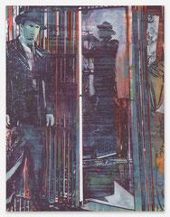 Film, 2020, Mischtechnik auf Leinwand, 130 x 100cm