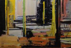 VIBRANT NIGHT, 2013, Öl auf Leinwand, 135 x 200 cm verkauft