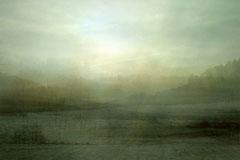 LANDSCHAFT UM ROTTWEIL I ABENDS, 2007, C-Print auf Aludibond, kaschiert hinter Plexiglas, 110 x 165 cm