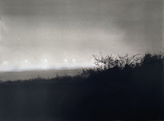 GHOSTS 2020 Öl und Acryl auf Leinwand 70 x 130 cm