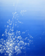 Untitled 2020 Acryl auf Leinwand  100 x 80 cm