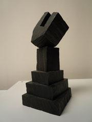 SPIEL IX, 2010/12, Bronzeguss, 28 x 12 x 12