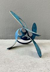 HAVANNA, 2016, Bronze, patiniert, 22 x 42 x 30 cm, Unikatedition 3 + 1 ap