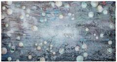 Apogaeum II  2019 Öl und Acryl auf Leinwand 130 x 250 cm