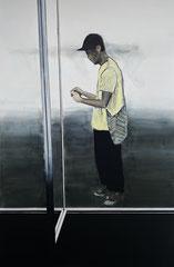 MORI YELLOW 2019 Acryl und Öl auf Leinwand 240 x 160 cm