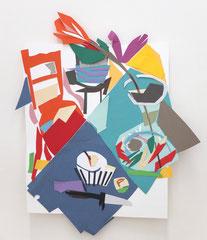 GEDECKTER TISCH, 2018, Papier, 35 x 27 cm