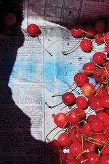 "CHERRIES aus der Serie ""Far away but close"", 2018, Fine Art Pigment Print, 75 x 50 cm, Ed. 5"