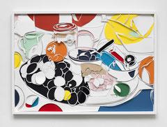 OBST UND GEMÜSE I, 2017, Grafitstift, Papier, 70 x 100 cm
