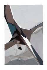 DEUTSCHE BILDER KL., 2017, Öl auf Leinwand, 190 x 120 cm