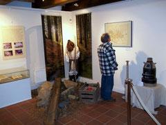 Ein Blick in die Ausstellung.