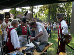 Königlich Sächsische Armee  /  Bergbau- Traditionsverein Hohwald e.V.   -  400 Jahre Schloss Langburkersdorf
