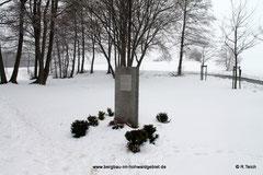 Gedenkstein in Rugiswalde