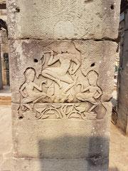 eins von Millionen Details der Tempel