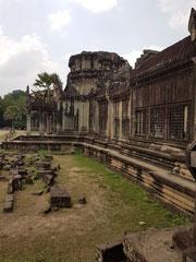 Außenmauer Angkor Wat