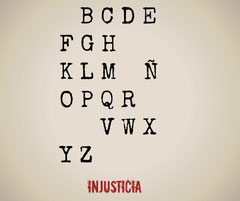 Injusticia, por Susana Mata