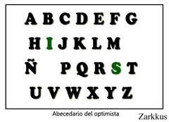 Abecedario del optimista, de David Galán