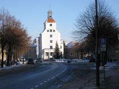 Blick Richtung Rathaus