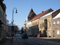 Blick Richtung Heimatmuseum