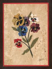 Bouquet de pensées manuelles (235/300)