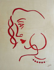 Gitane profil rouge (280/365)