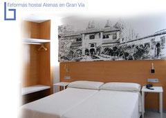 Reforma Hostal Atenas en Granada