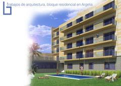 Arquitectura, diseño de apartamentos en Argelía