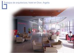 Arquitectura, diseño de Hotel en Argelía