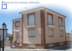 Construcción de vivienda unifamiliar en Granada