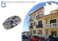 Construcción de pisos en Granada