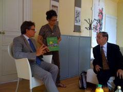 SE Trinh Ngoc Thai et Mr Touchon