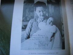 L'Impératrice Nam Phuong, à Hué, en 1942