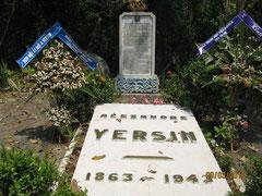 Tombe d'Alexandre Yersin