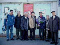 De gauche à droite : -Nguyen Hai Nam, -Vu Ngoc Quynh, pôle Francophonie&Culture d'AD@LY, - JeanTran Thanh Van, physicien, Directeur de Recherche émérite, -Ngo Bao Chau, médaille Fields, -Mme Tran Thanh Van, biologiste, -Vu Quang Kinh.